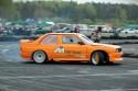BMW E30, drift, bok