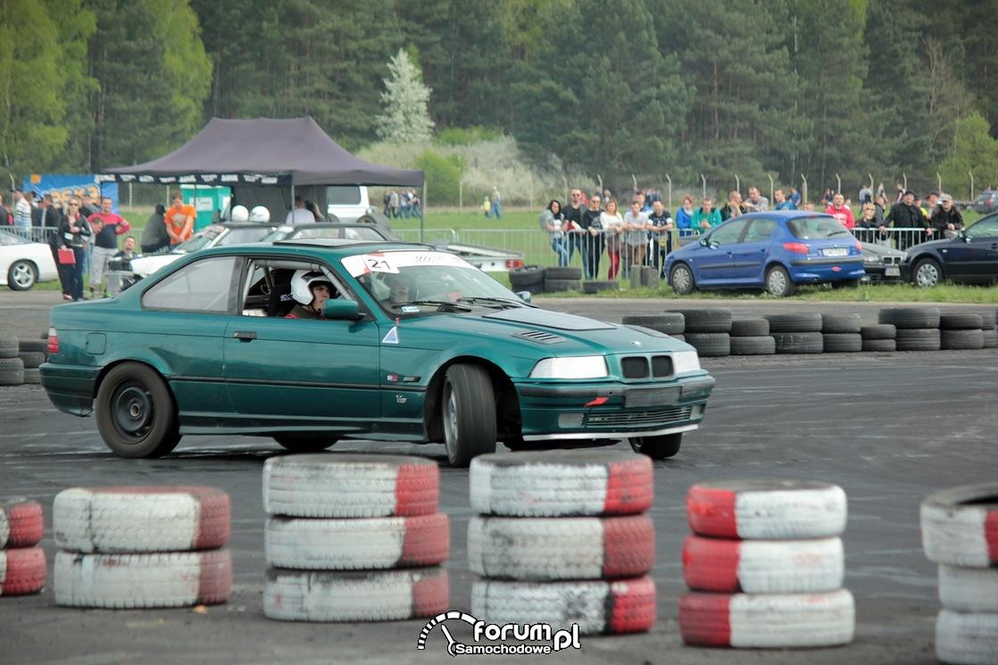 BMW E36, drift