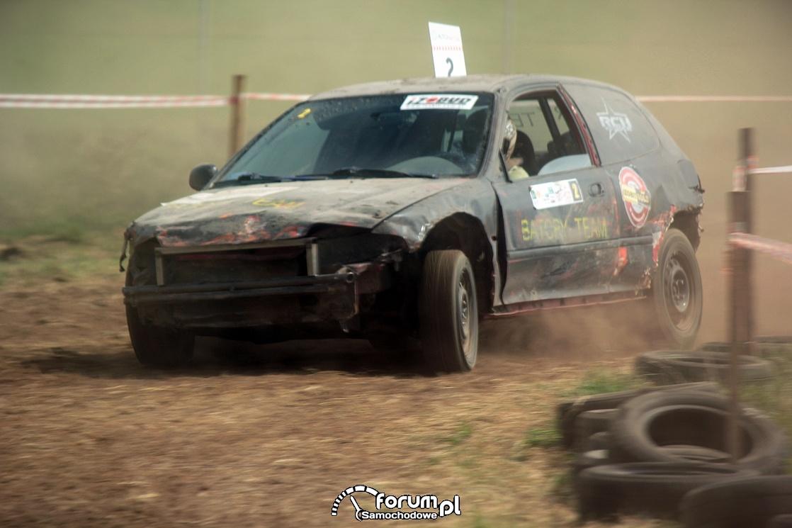 Honda Civic V, Wrak Race, 2