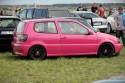 Różowy VW Polo