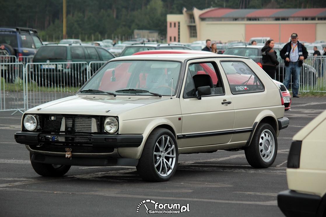 VW Golf II, 1-4 mili