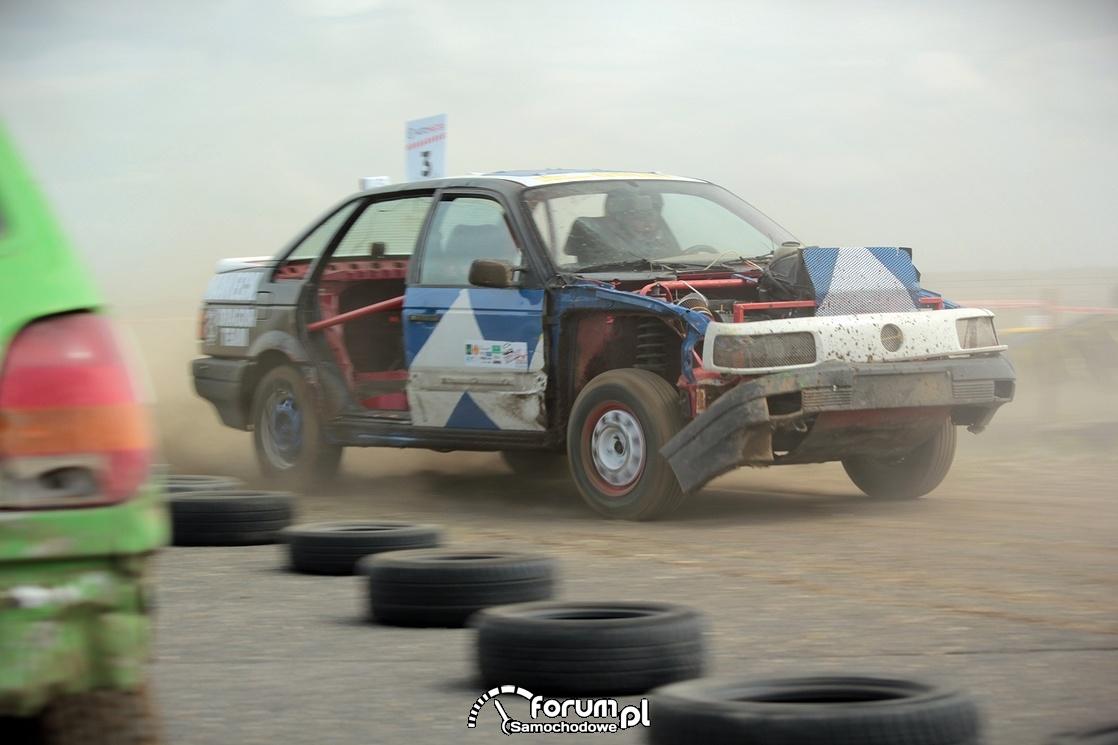 VW Passat B3, Wrak Race