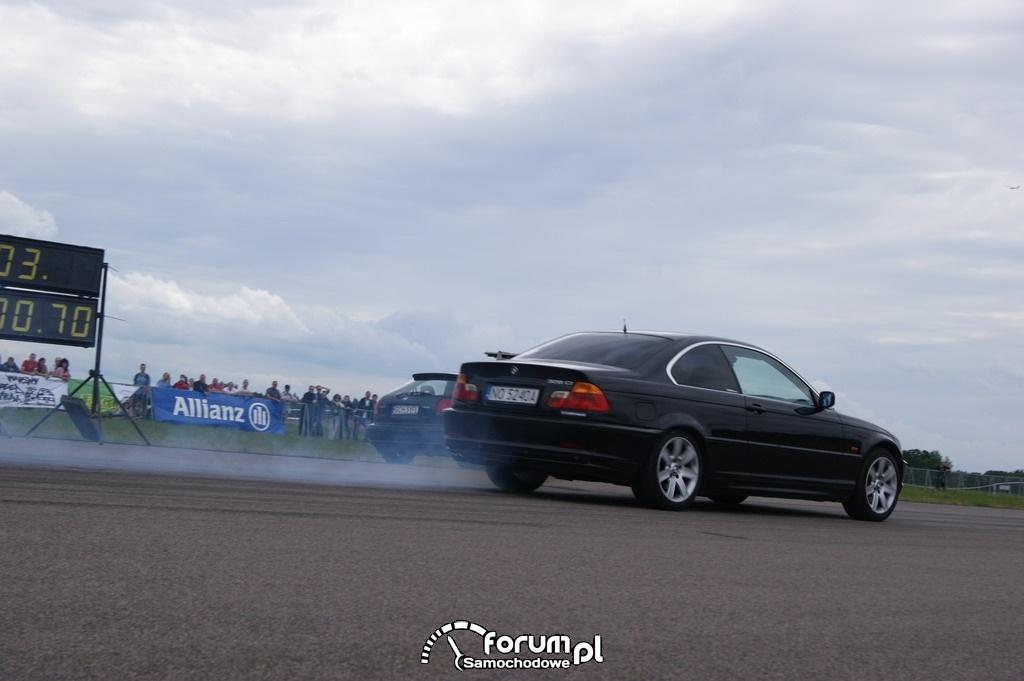 BMW 328ci vs Honda Civic, 3
