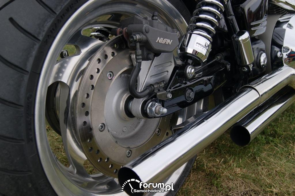 Zaciski hamulcowe, Honda 1800, Motor
