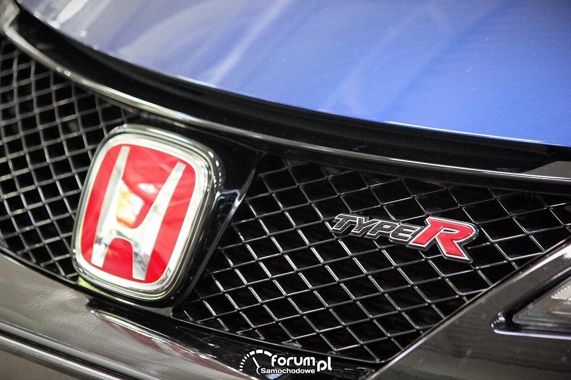 Honda Civic TypeR, logo na grilu