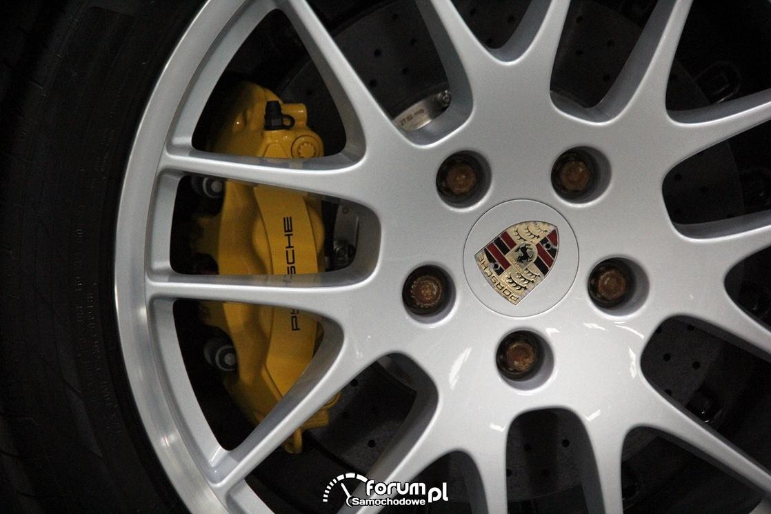Porsche Panamera turbo, zaciski hamulcowe