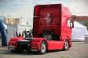 Scania R580 V8, ciągnik siodłowy, tył