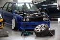 BMW E30, podnośnik i koła na zmianę