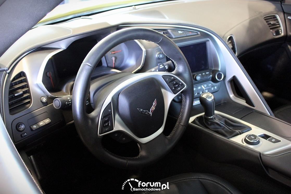 Chevrolet Corvette C7, wnętrze