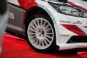 Ford Fiesta RS WRC, białe alufelgi