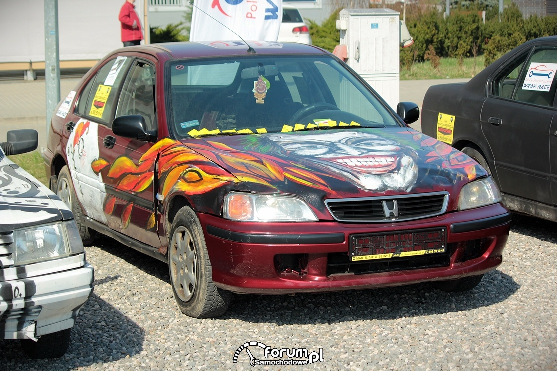 Honda Civic do Wrak Race