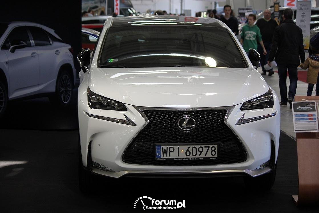 Lexus RX, przód