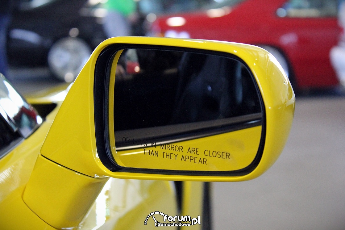 Lusterko zewnętrzne, Chevrolet Corvette C7