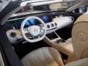 Mercedes S-Class Cabriolet, wnętrze