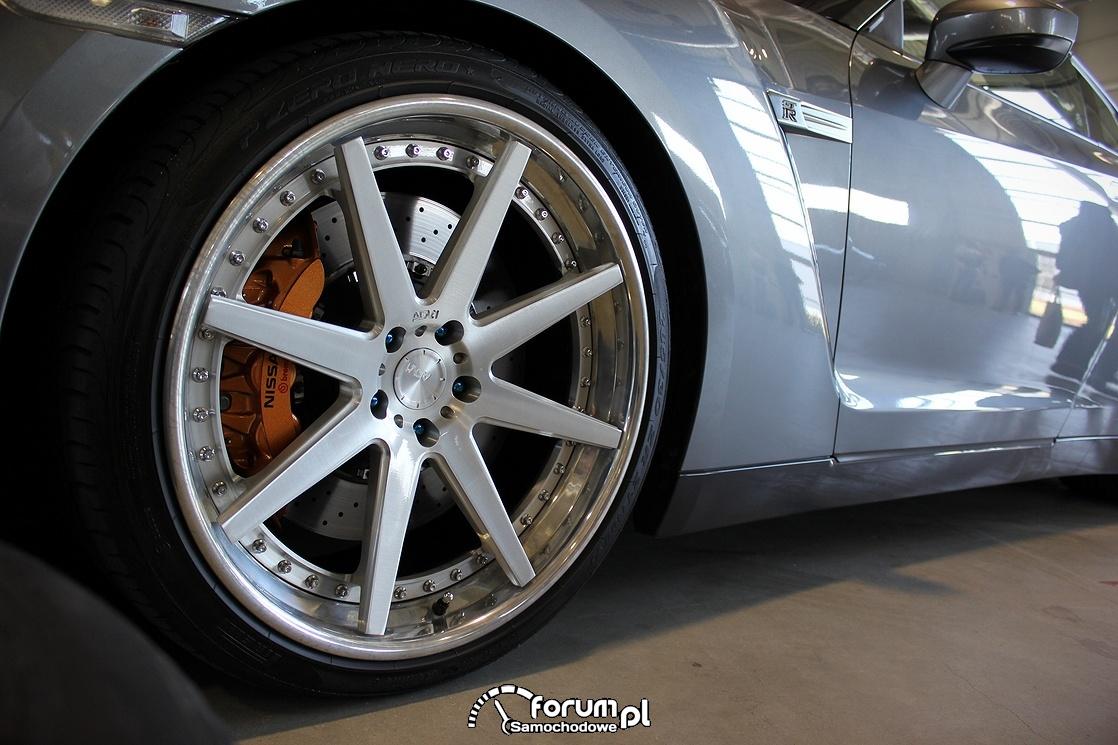 Nissan GTR, alufelgi