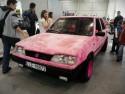Pluszowy różowy FSO Polonez