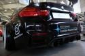 Poczwórny wydech w BMW i dyfuzor