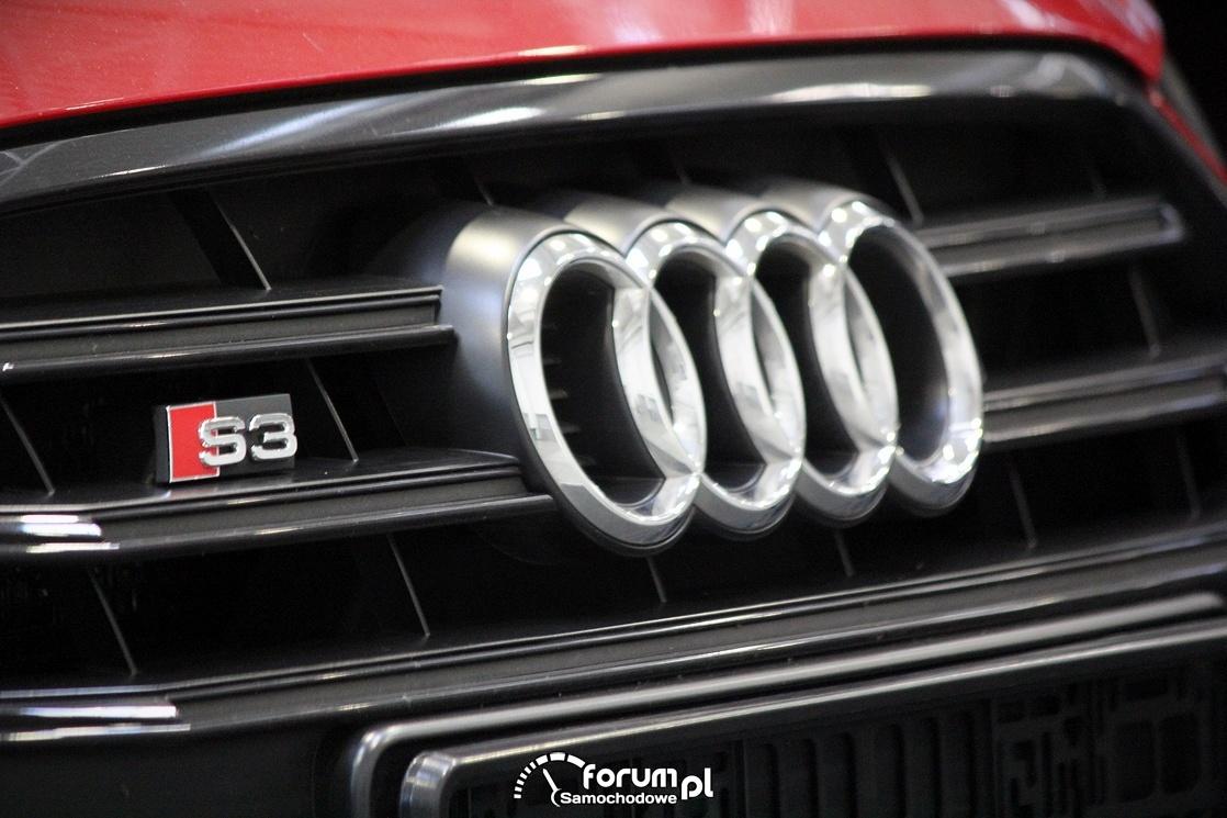 S3 Audi, grill, logo
