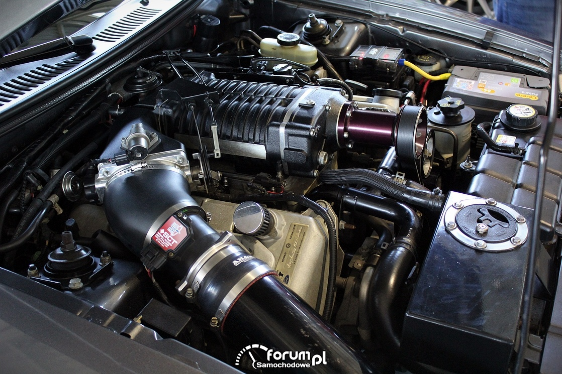 Silnik 4,6L V8 Supercharger 700KM+