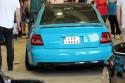 Audi A4 B5, niebieska folia
