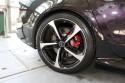 Audi RS czerwone zaciski hamulcowe