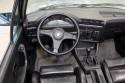 BMW E30 cabrio, wnętrze