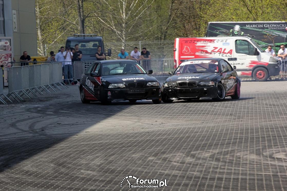 Drift w parze BMW