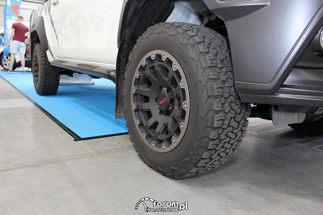 Koła terenowe Hilly, Toyota Hilux