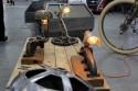 Lampki, ciekawe projekty z części samochodowych