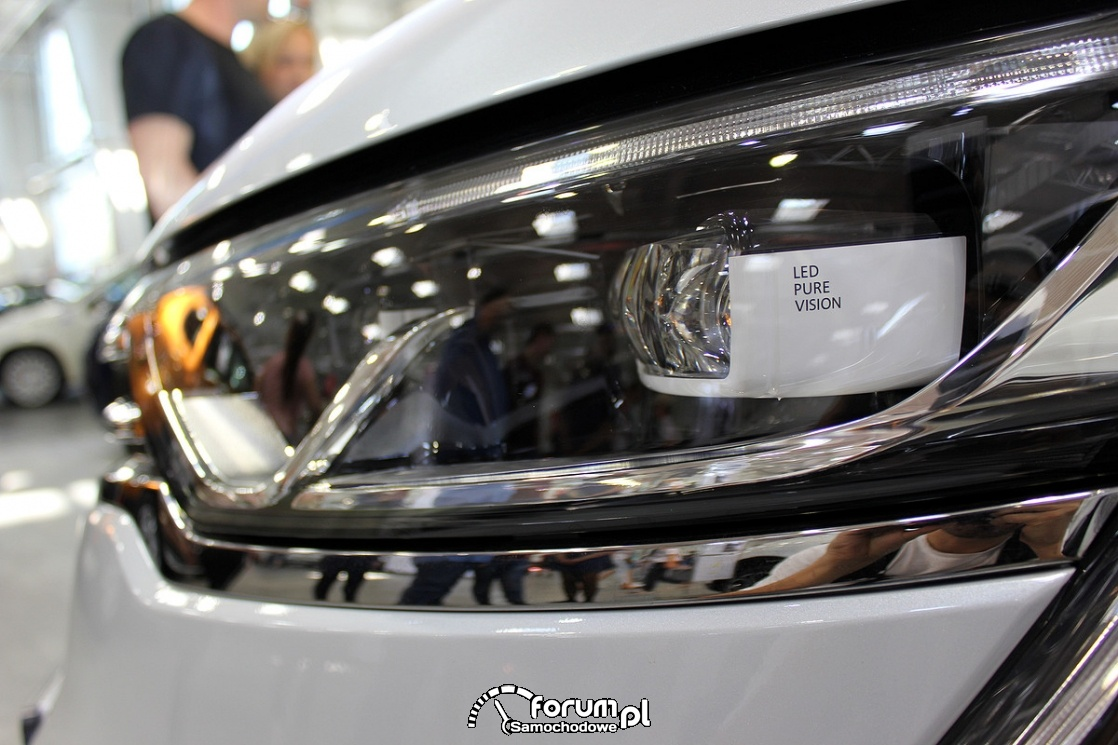 Adaptacyjne reflektory LED