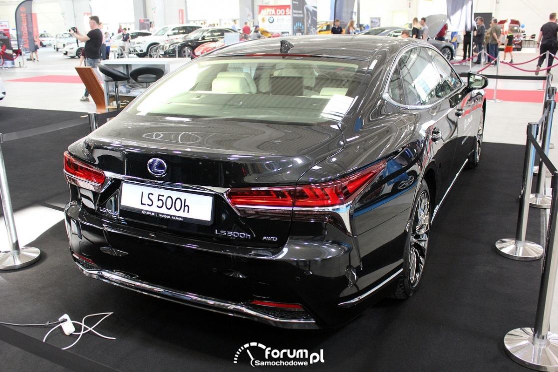 Lexus LS 500h, tył