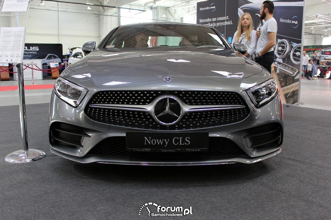 Mercedes-Benz CLS 400d, przód