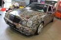 Mercedes E-klasa, folia ze zdjęciami samochodów