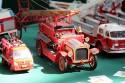 Miniaturowe modele samochodów, drabiniasty wóz strażacki