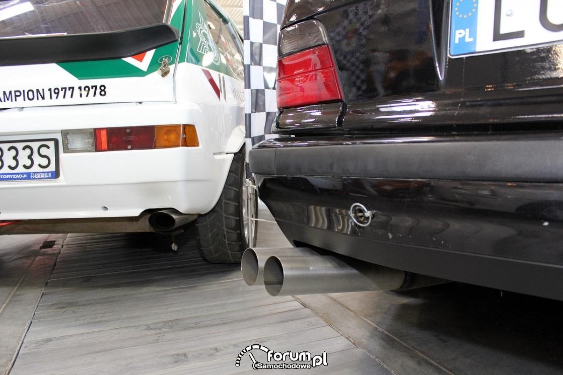 Podwójny wydech w BMW