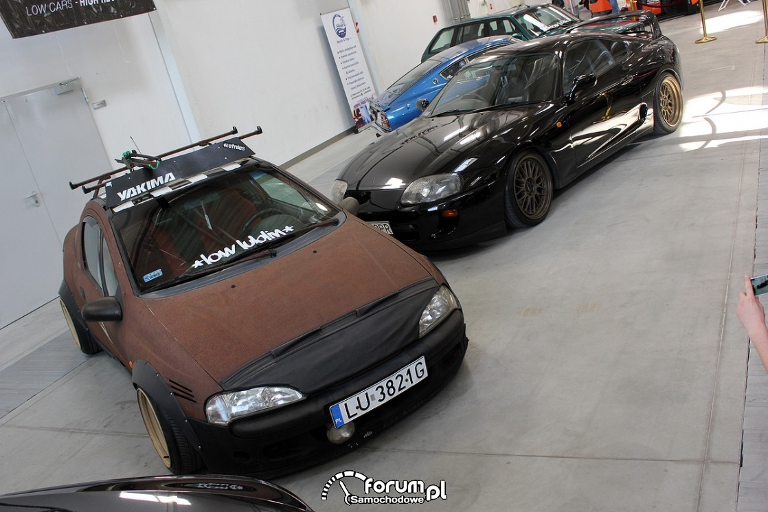 Rat style, rdza jest trendy, Opel Tigra