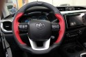 Toyota hilux, Hilly, kierownica skórzana