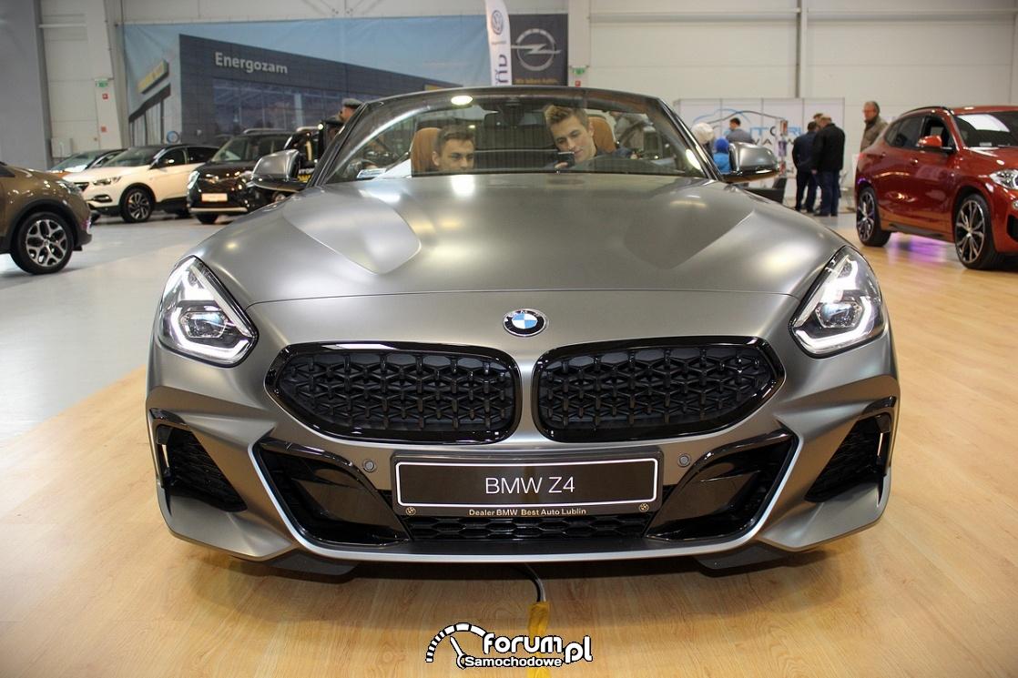 BMW Z4, przód
