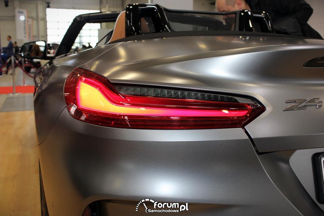 BMW Z4, tylna lampa LED
