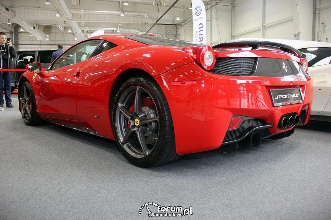 Ferrari 458 Italia, 2
