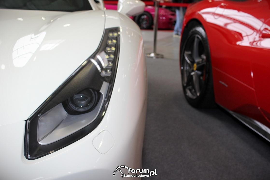 Ferrari 488 GTB, przedni reflektor