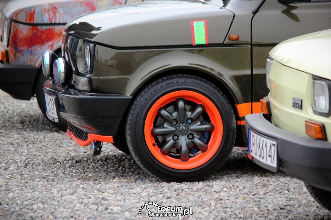Fiat 126P, alufelgi