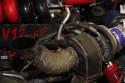 Krótki układ wydechowy za turbo