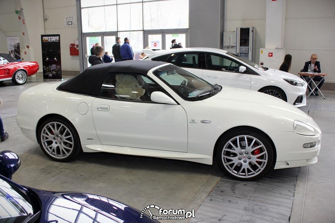 Maserati 3200 GT, bok