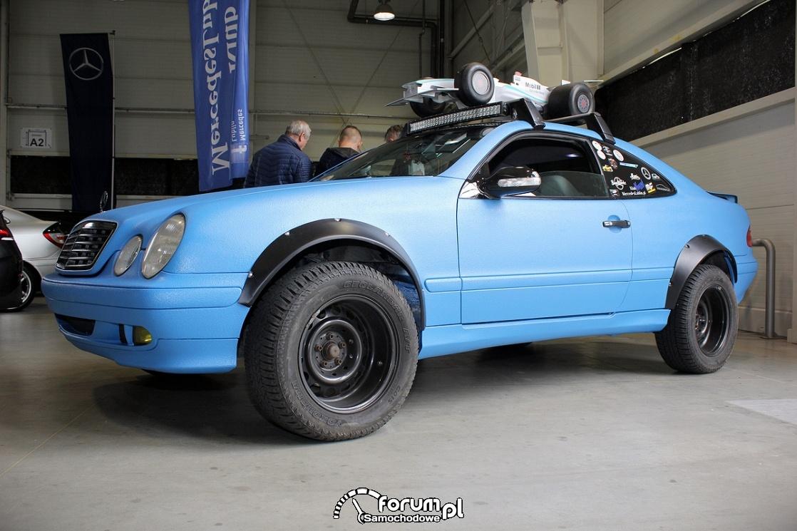 Mercedes-Benz E klasa Coupe W208, offroad, bok