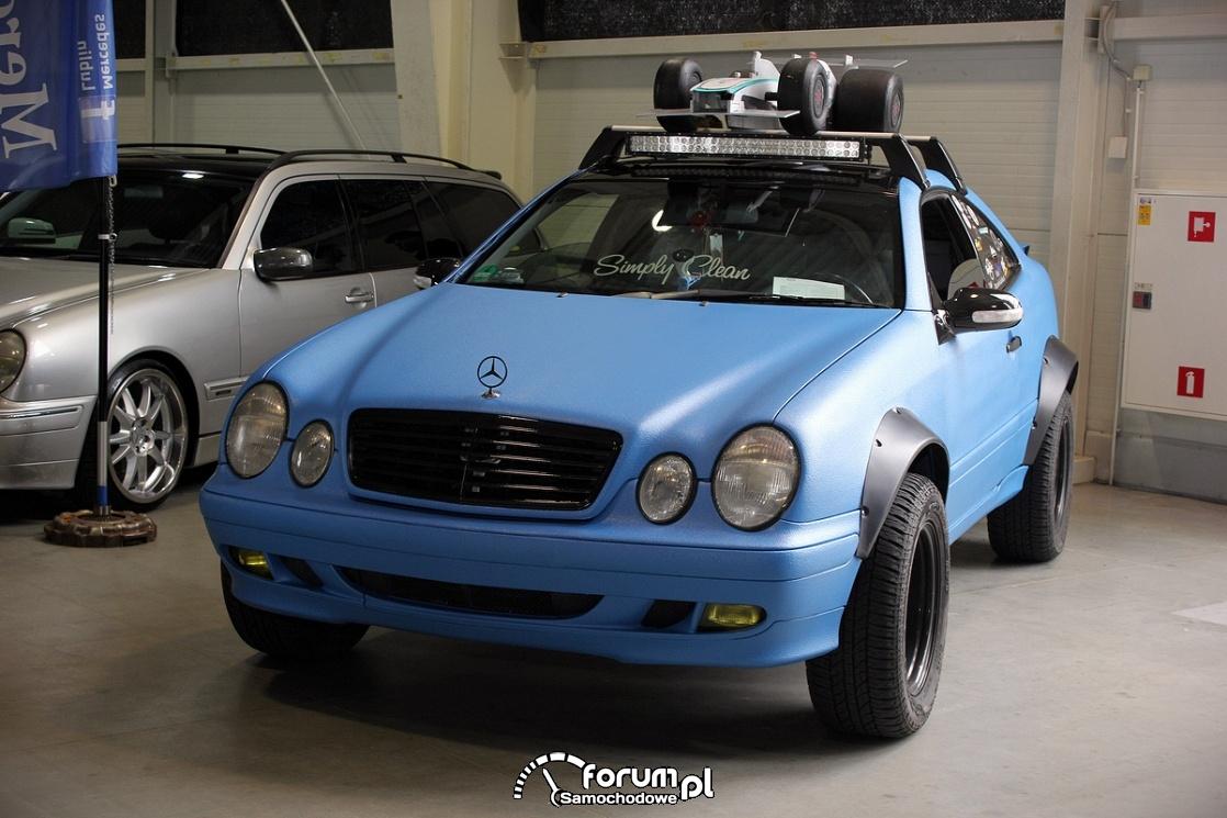 Mercedes-Benz E klasa Coupe W208, offroad
