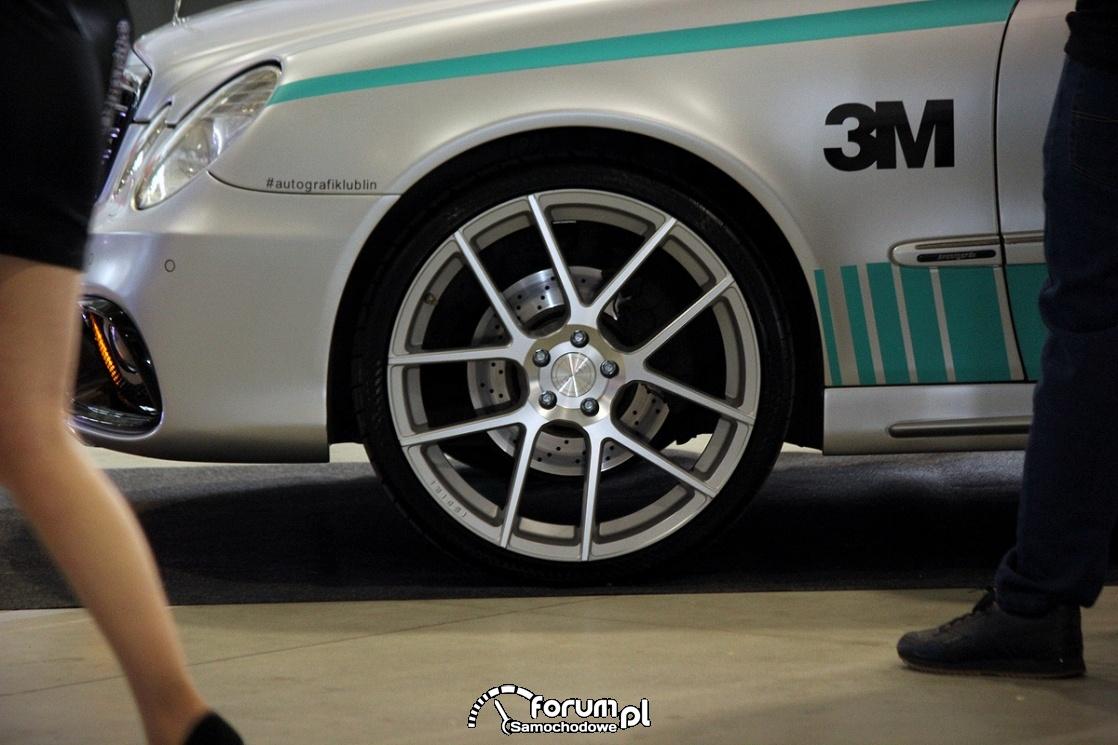 Mercedes-Benz E klasa W211, Safety Car, alufelgi