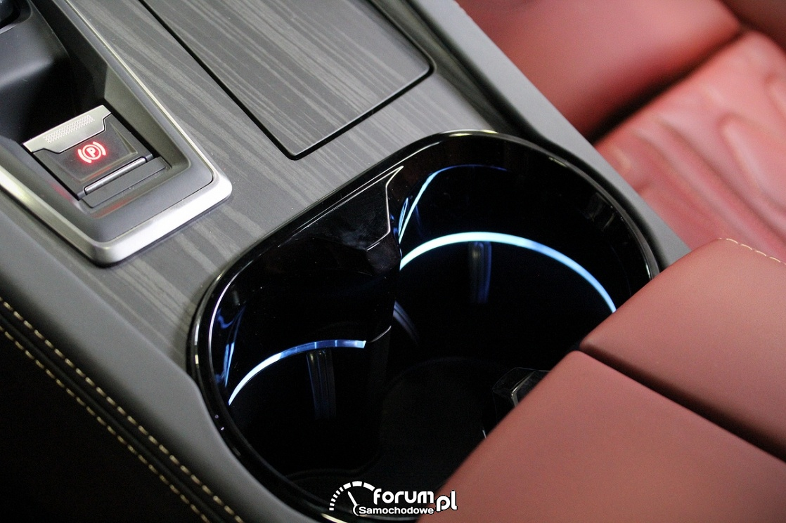Miejsce na napoje w samochodzie, Peugeot 508