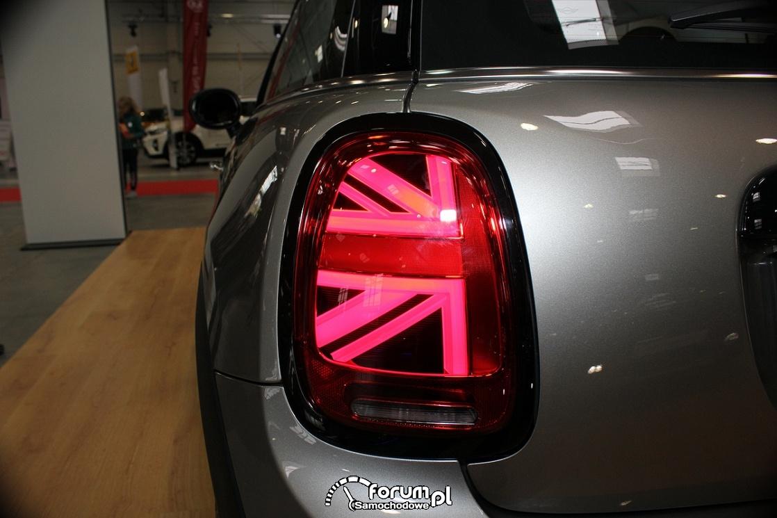 Mini Cooper S, tylna lampa LED