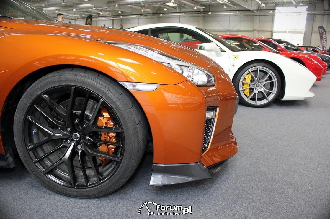 Nissan GT-R, alufelgi